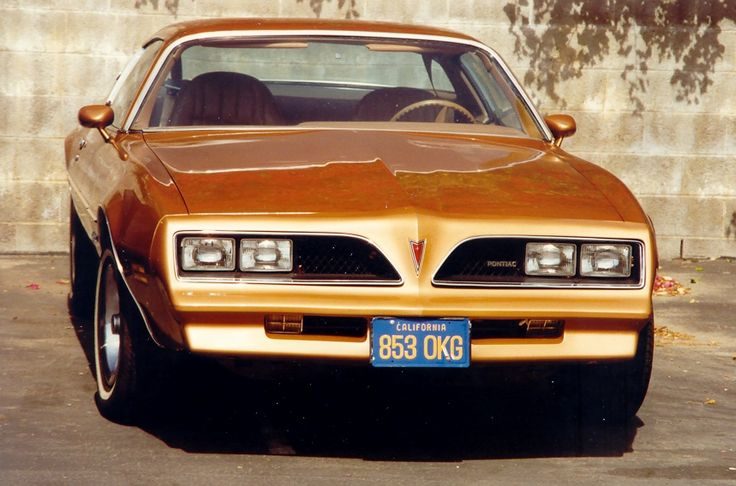 "Jim Rockford's 1977 Pontiac Firebird Esprit. ""The Rockford Files"" taught me how to drive."