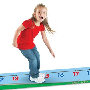 0 30 Number Line Floor Mat Math Teacher And Math Activities