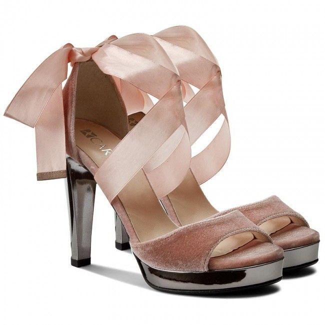 Sandały CARINII - B3919  J31-000-000-C14