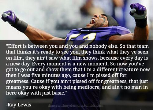 Ray Lewis Inspirational Quotes Quotesgram: Best 25+ Ray Lewis Quotes Ideas On Pinterest
