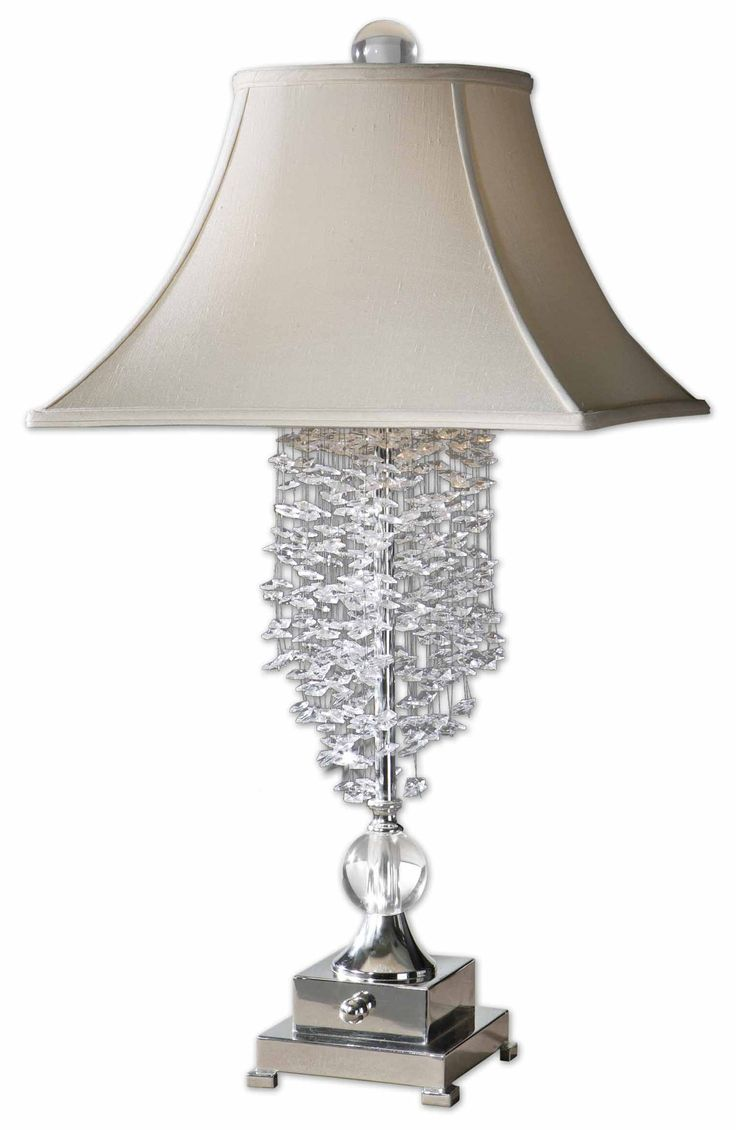 17 best table lamps images on Pinterest | Crystal lamps, Lights ...
