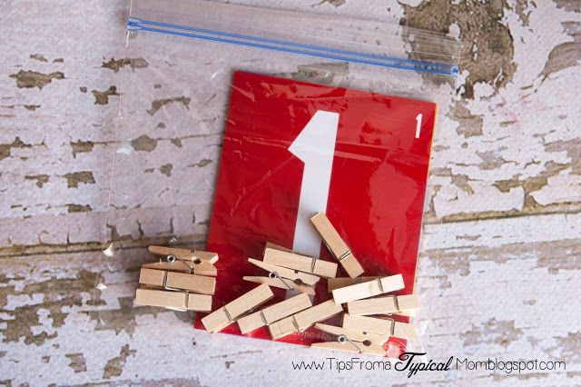 Teach Kids Numbers {Free Printable Activity} Preschool/Kindergarten - Tips from a Typical Mom