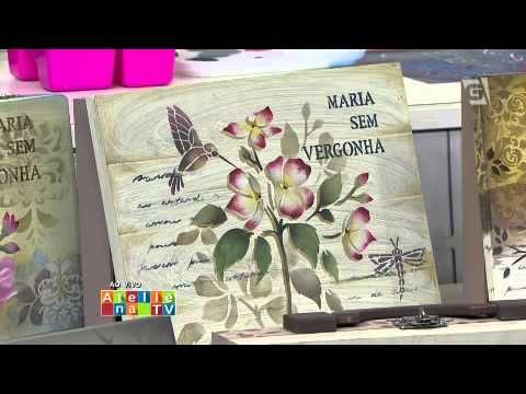 Ateliê na TV - TV Gazeta - 16.04.15 - Mayumi Takushi - YouTube