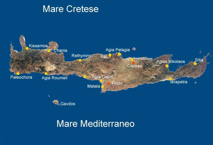 Cartina Geografica Dell Isola Di Creta.Creta Mappa Cartina Di Creta Creta Creta Grecia Mappa