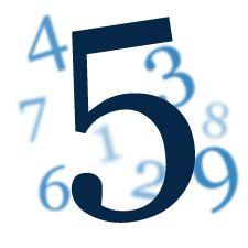 Wibracja numerologiczna liczby 5. - Tarot Numerlologiczny