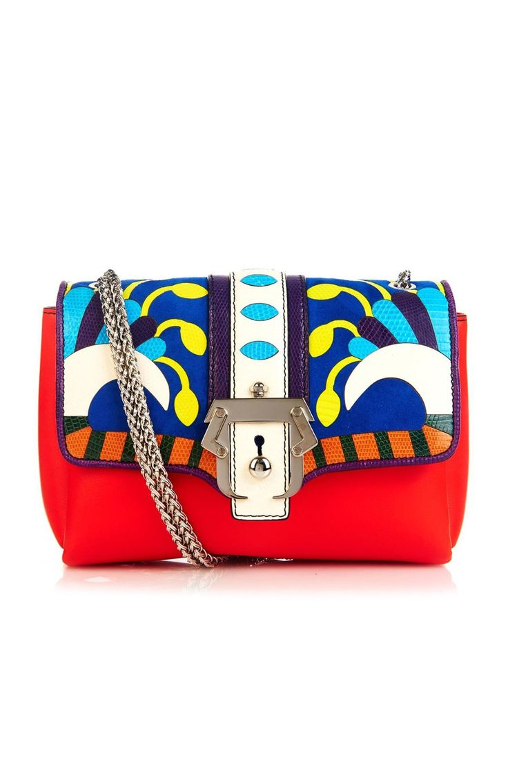 25 Look-At-Me Buys From The Matches Fashion Sale #refinery29  http://www.refinery29.com/matches-summer-sale#slide-9  Street style's It bag just got trippy. This one is sure to catch the lenses of Tommy Ton or Bill Cunningham.