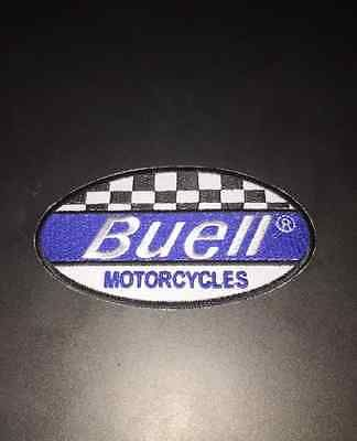 BUELL-MOTORCYCLES-RACING-Embroidered-Patch-Iron-Sew-Logo-Emblem
