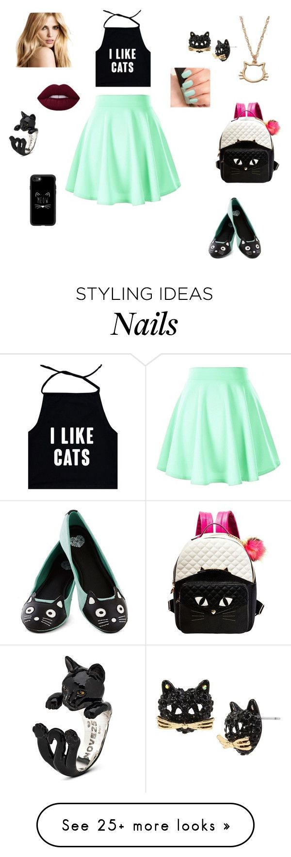 """"""""""" by soeshnicooray on Polyvore featuring LC Lauren Conrad, Betsey Johnson, T.U.K., Casetify and NARS Cosmetics"""