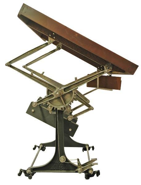 An Elaborate Mechanical Standing Desk Desks
