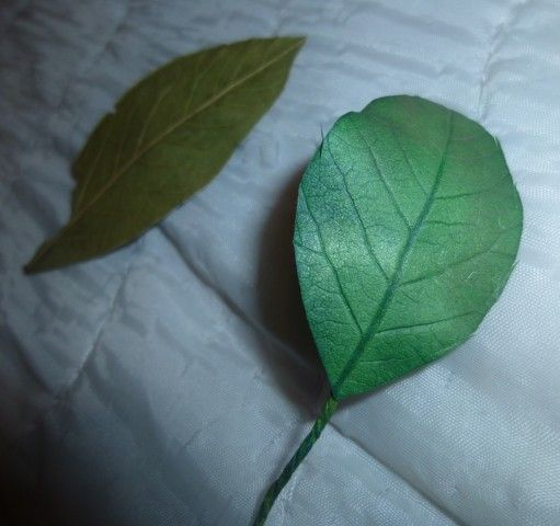 Обрабатываем листочки из Фоама без использования молдов | Страна Мастеров