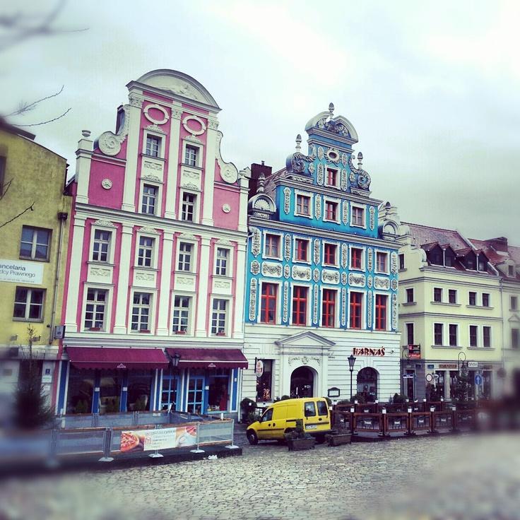 Kneipenviertel in Stettin, Polen