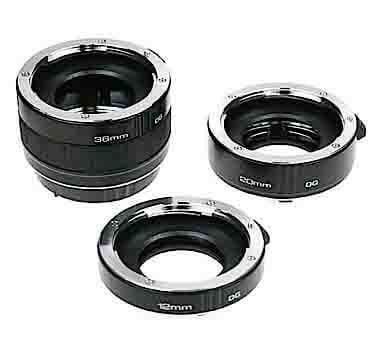 Do you need to buy a Sony Macro Lens or will the Kenko Auto Extension Tube Set DG for Sony, do the job for you?
