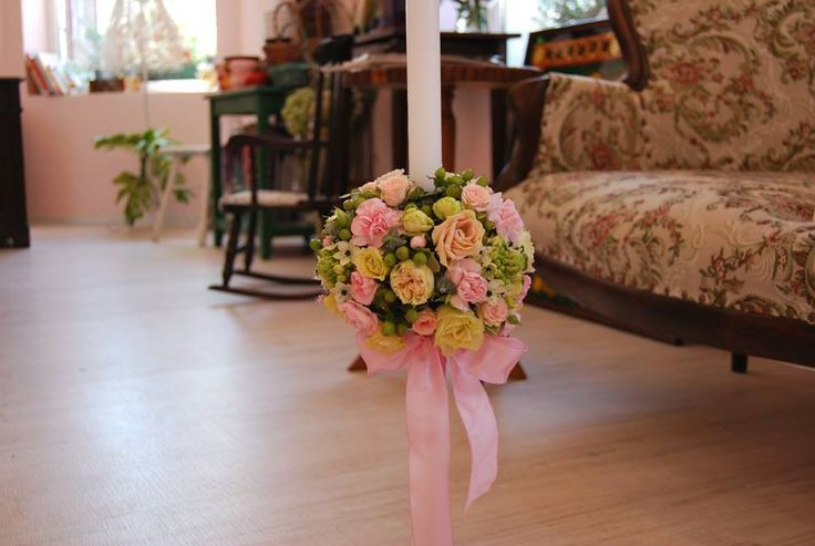 Christening/ wedding candle