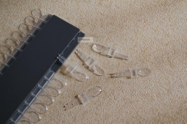 24 pontas das unhas de acrílico Nail Art adesivo transparente para revelar quadro alishoppbrasil