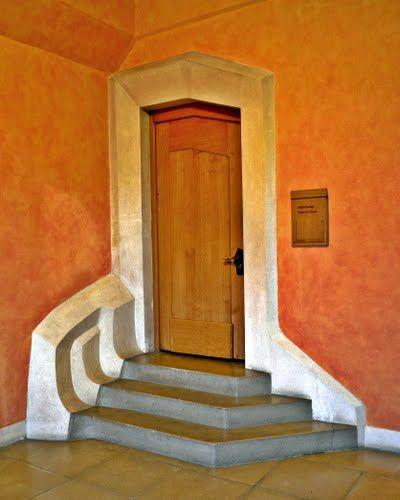 Dornach, Goetheanum, Tür