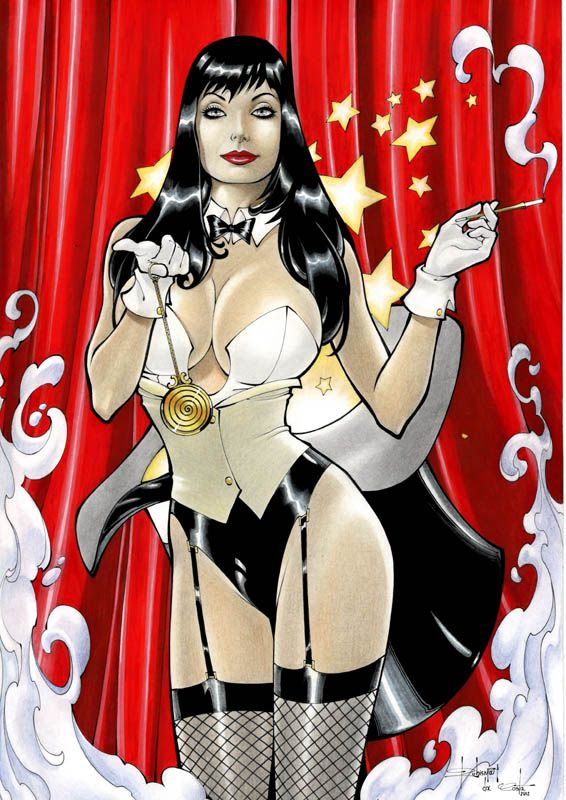 young justice meet zatanna costume