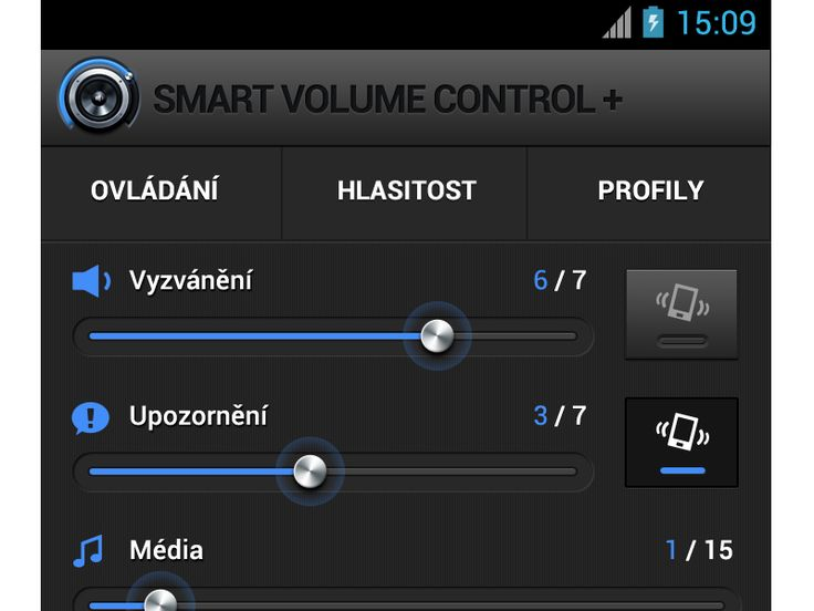 Volume Control UI/UX - Smart Volume Control by Petr   Direct-services
