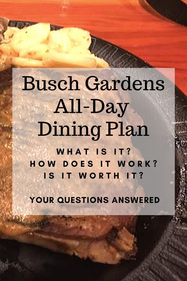 ec2fa99c8f95a5097b5e3c59918b0150 - Busch Gardens Dining Deal Worth It
