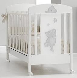 Детская кроватка Erbesi Cucu (белая) - Интернет магазин детских товаров Коляскин в Екатеринбурге