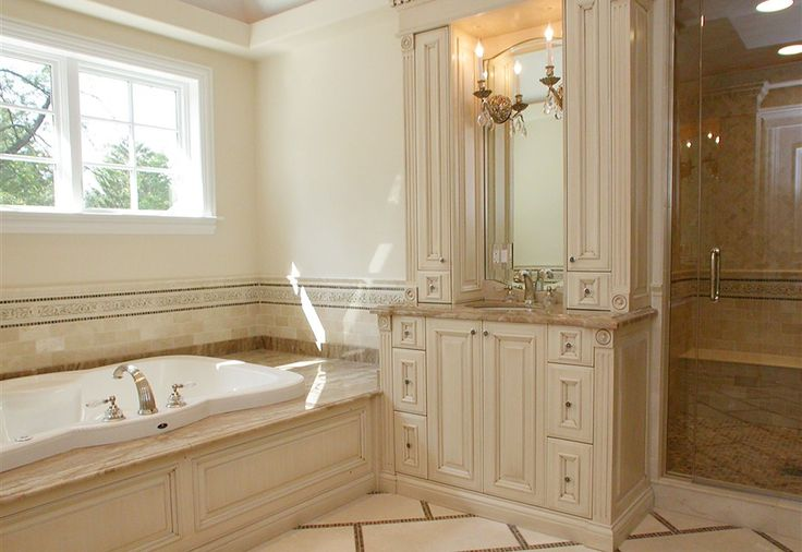 Top 13 Ideas About Master Bath Ideas On Pinterest Dark Oak Cabinets Elegant Home Decor And