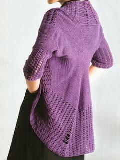 REVISTAS DE TEJIDOS: Tejido Practico Crochet Calados №4 2011.downloads: Patterns, Form, Pattern, Tejido Gratis, Cardigan, Crochet Clothes, Сardigan De, Tissue