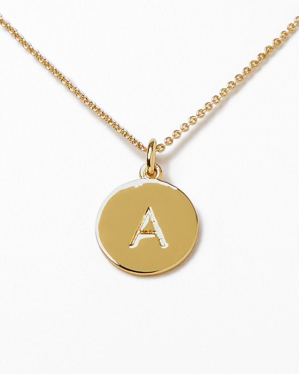 """kate spade new york One in a Million Initial Pendant Necklace, 18"""" 