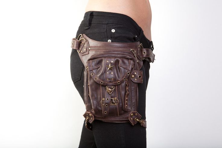 Blaster 4.0 Brown. $269.00, via Etsy. So much cooler than a fannypack ;)