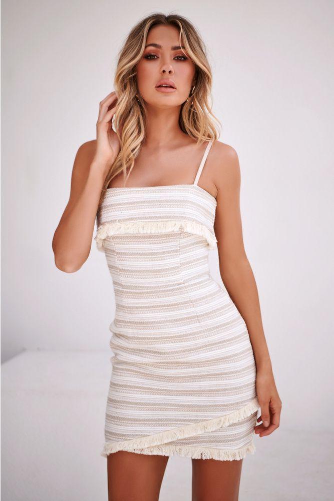 582a8eeff1ff PREM THE LABEL Grace Kelly Dress Beige