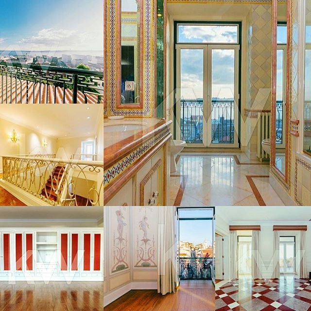 FOR SALE! How fabulous is this ???Charm and luxury in this 3 floors and 914 m2 dream!!Located in Lisbon historical centre, it has  14 rooms, 1 suite, 8 bathrooms, parking, jacuzzi and so much more...But it's the 107m2 and 16.97m2 balconies with  the gorgeous views  to Tagus River and old Lisbon neighbourhoods that takes my breath away!! Listed for 6.5M €. Contact for details.#lisboa #lisbon#realestate #Kellerwilliams #luxuryrealestate #luxuryproperties