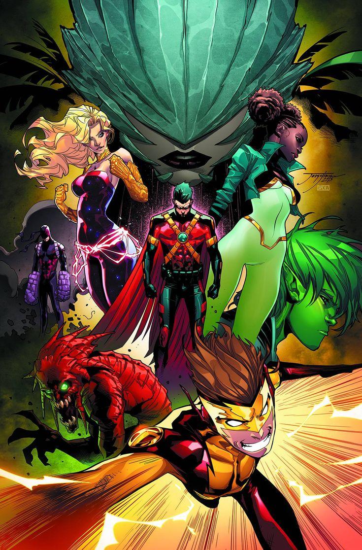 Teen Titans - Jorge Jimenez