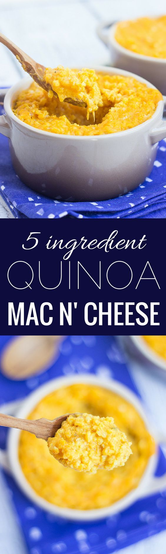 Comfort-food is at the top of every college kid's list, but in order to stay healthy try this recipe that substitutes quinoa for pasta. Top saved: 5-ingredient Quinoa Mac and Cheese.