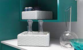 #blue #white #cupboard #Eurocasa