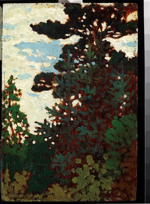 The Pine, c. 1921Franz Johnston, Canadian, 1888 - 1949Oil on panel, (c) 2013 Art Gallery of Ontario
