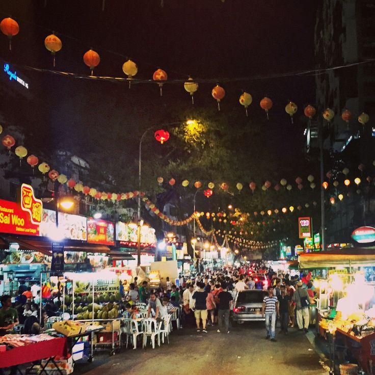 Hawker market, Kuala Lumpur