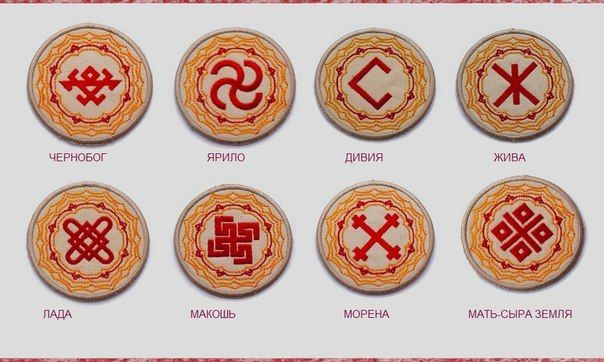 Symbols Slavic Gods and Goddesses Each Slavic talisman associated with God, has special features.  For example, Svarog amulet gives health, and ward Lada Mother -Family happiness. It has its own peculiarities and differences that should be studied and checked in practice.  The choice of such a talisman will require you to very careful consideration, and help from fellow Northern Tales.