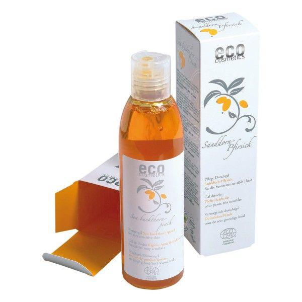 ECO-Cosmetics Pflege Duschgel Sanddorn-Pfirsich 200 ml: https://www.nordjung.de/eco-cosmetics-pflege-duschgel-sanddorn-pfirsich-200-ml #naturkosmetik