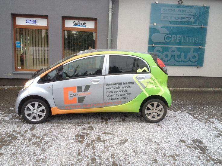 Peugeot: po polepu od www.solarstop.cz