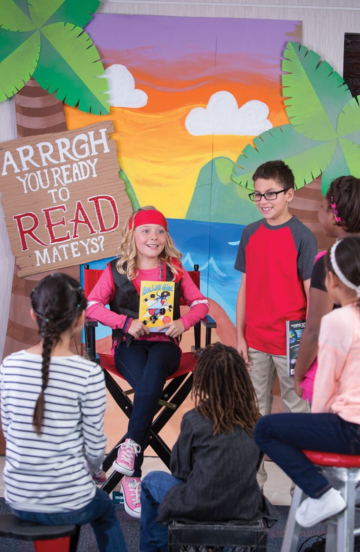 Recruit students to give booktalks during class and throughout the Fair and watch as their peer-to-peer influence ignites their interest in reading. #booktalk #mybookfair