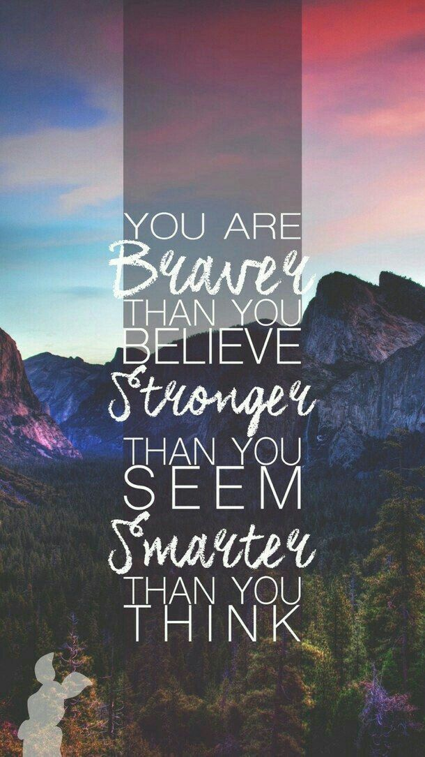 You are more than you think you are..