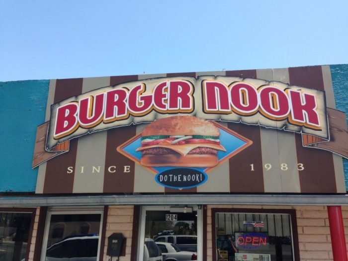 Best Hole-in-the-Wall Eateries in New Mexico: 12. Burger Nook, 1204 E Madrid Avenue,Las Cruces