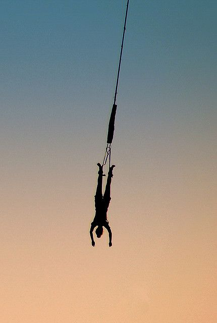 Bungee Jumping at sunset in Helsinki, Southern Finland | photo by Daniele Zanni