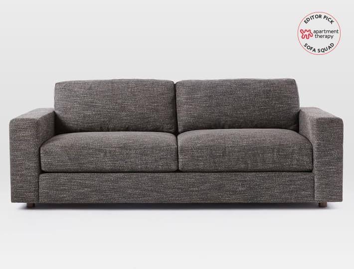 most comfortable living room furniture. reviewed the most comfortable sofas at west elm living room furniture