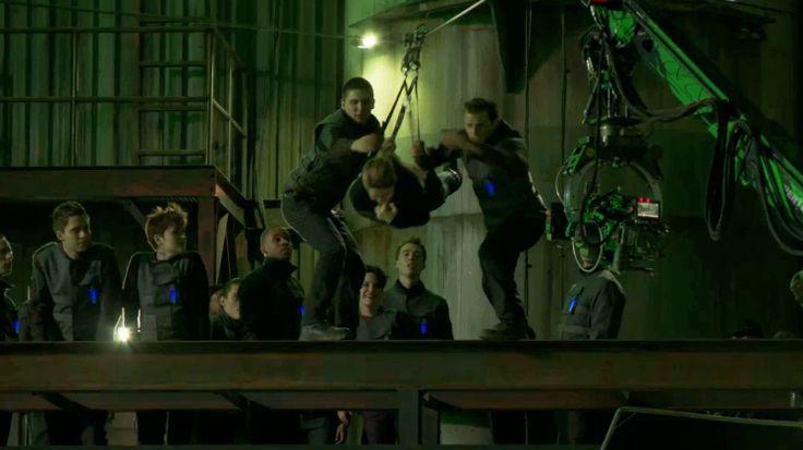 Divergent Zipline Scene Quote Zip-line scene! | Dive...