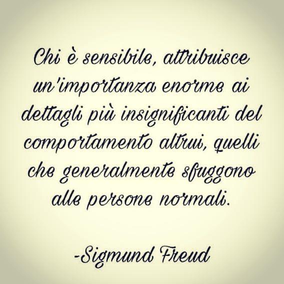Sensibilita Poteredellamente Sensibilita Sensibile Freud