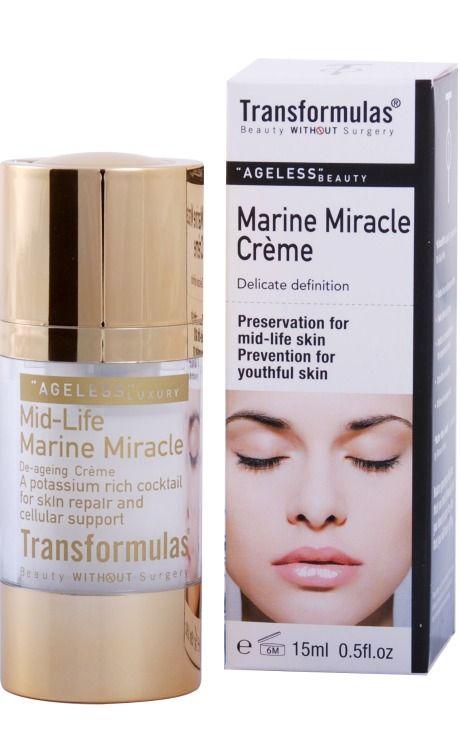 Transformulas Marine Miracle Cream, $69.00. Click photo to buy.