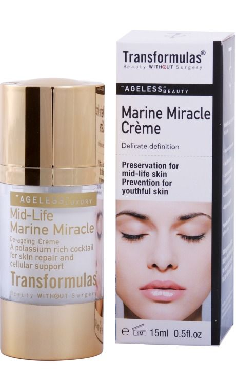 Transformulas Marine Miracle Cream, $69.00. Click photo to buy.