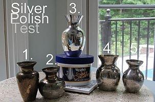 Silver Polish Test: Pinterest Homemade Jewelry Cleaner Recipe vs Wright's Silver Cream