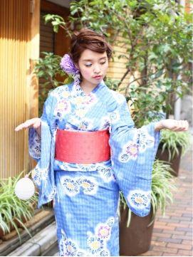 アミス バイ エアー amis by air2014年 人気浴衣ヘアアレンジ☆ ショート編