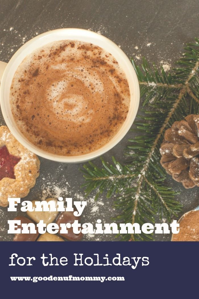 Family entertainment ideas for the Christmas holidays your whole family will enjoy! You'll be sure to find new family activities you haven't tried before! via @goodenufmommy