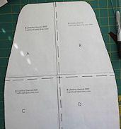 Free PDF pattern for Kitchenaid mixer cover.